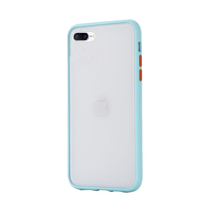 Silikónový kryt na iPhone 7/8 Plus Shockproof Light Blue