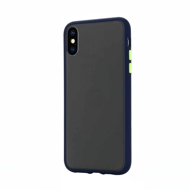 Silikónový kryt na iPhone X/XS Shockproof Blue