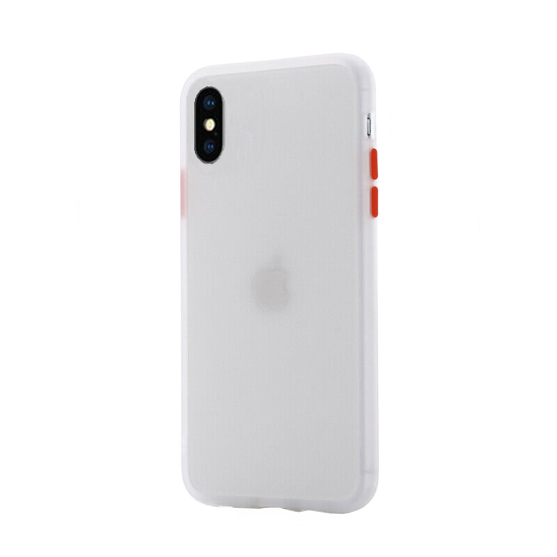 Silikónový kryt na iPhone X/XS Shockproof Clear
