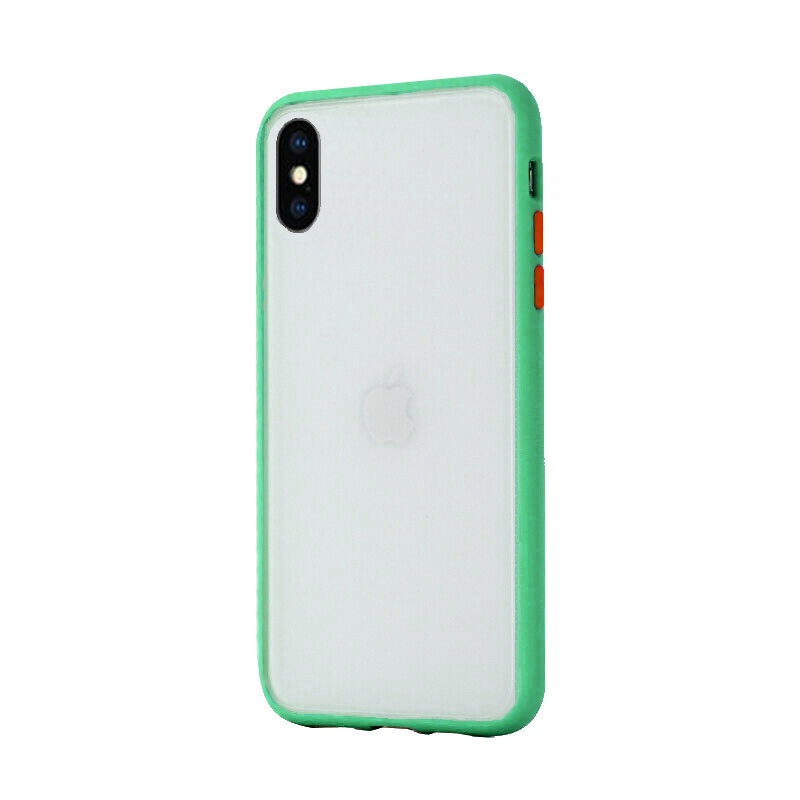 Silikónový kryt na iPhone X/XS Shockproof Green