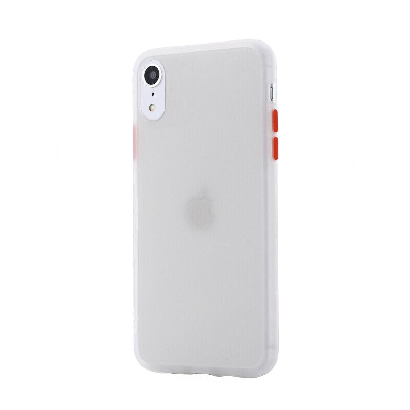 Silikónový kryt na iPhone XR Shockproof Clear