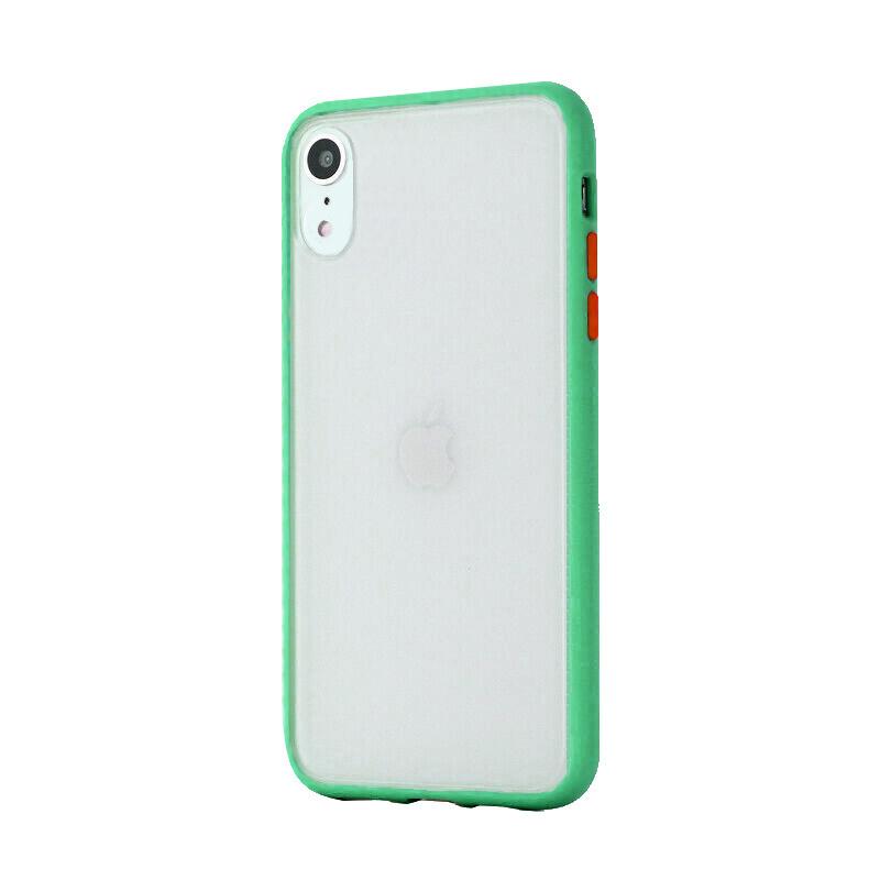 Silikónový kryt na iPhone XR Shockproof Green