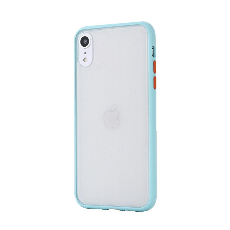 Silikónový kryt na iPhone XR Shockproof Light Blue