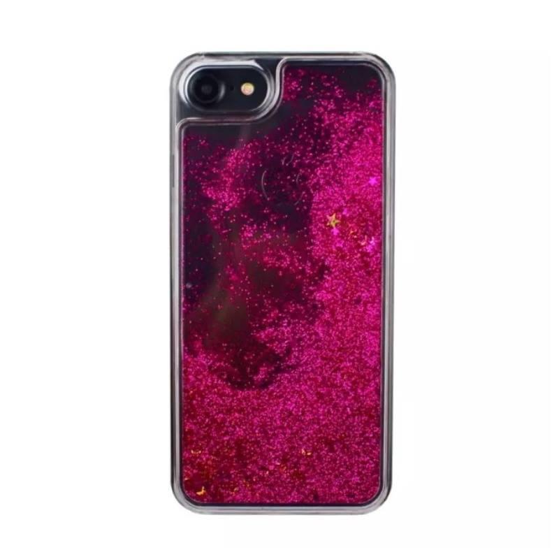 Plastový kryt na iPhone 6/6S presýpací Gold Stars