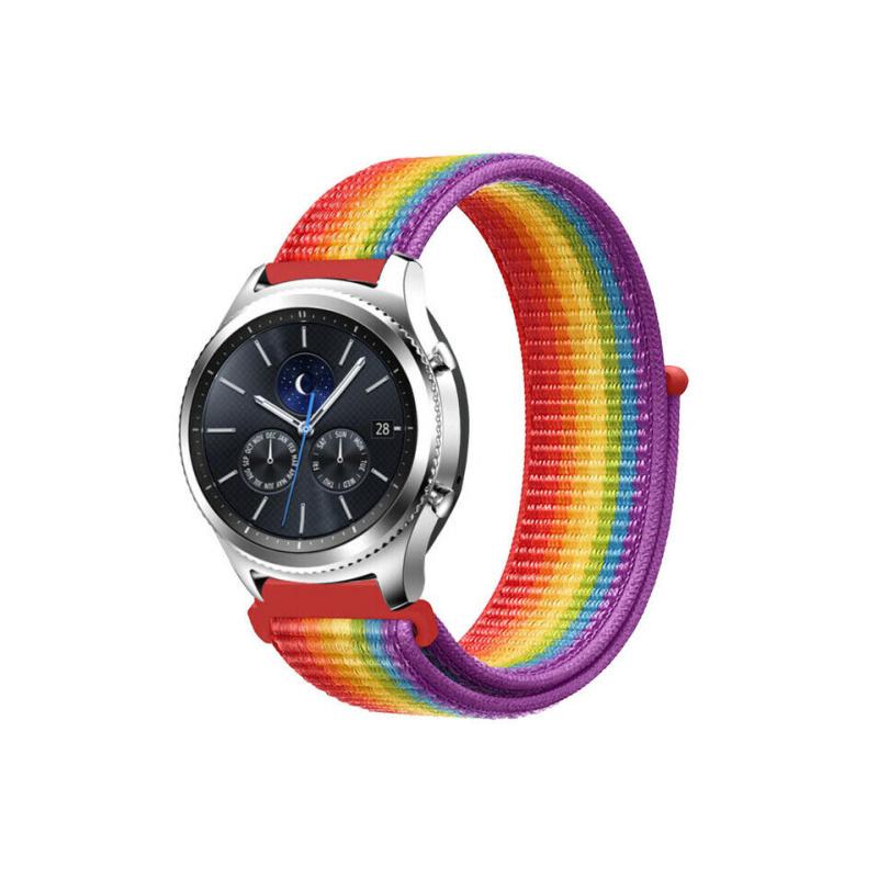 Remienok látkový 22mm Rainbows