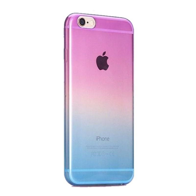 Silikónový kryt na iPhone 6/6S Purple Blue