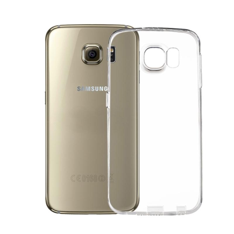 Silikónový kryt na Samsung Galaxy S6 Clear