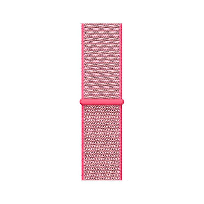 Remienok na Apple Watch 42/44mm látkový Hot Pink