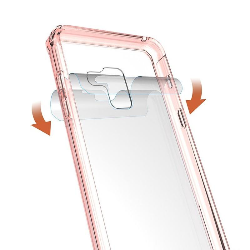 Odolný silikónový kryt na Samsung Galaxy A5 2018/A8 2018 Pink