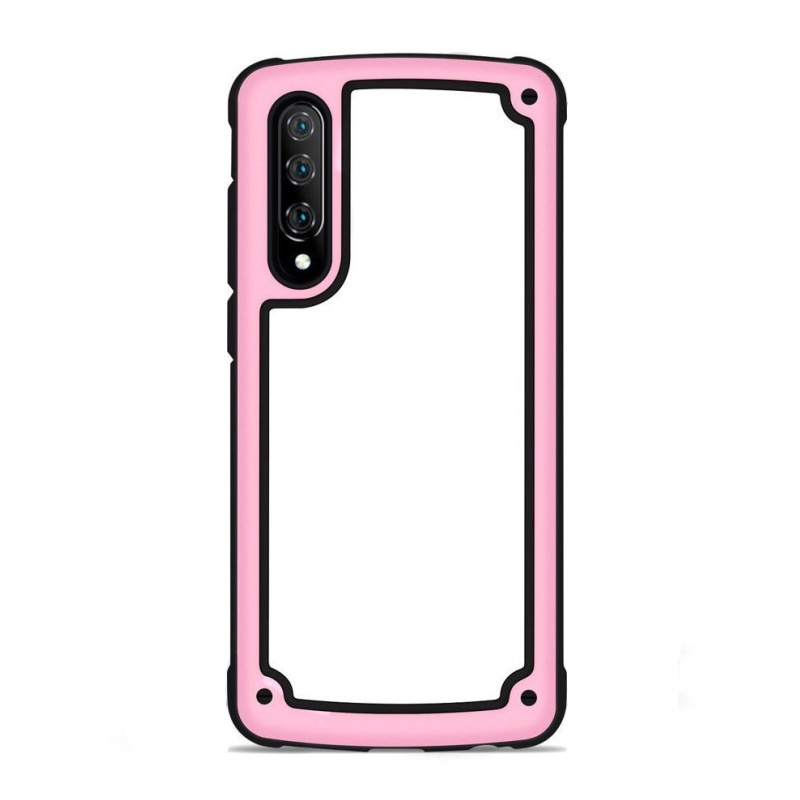 Odolný silikónový kryt na Samsung Galaxy A7 2018 Pink s vystuženými hranami