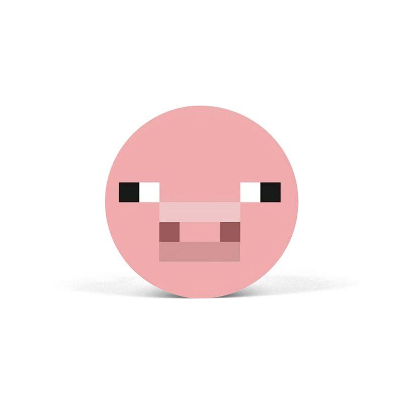 PopSocket Minecraft Pig