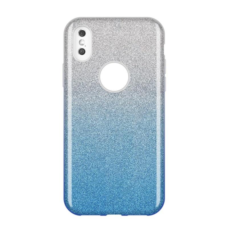 Silikónový kryt na Samsung Galaxy A9 2018 Half Blue