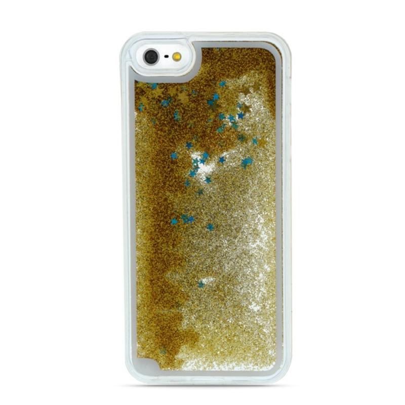 Plastový kryt na iPhone 7/8/SE 2 presýpací Blue Stars