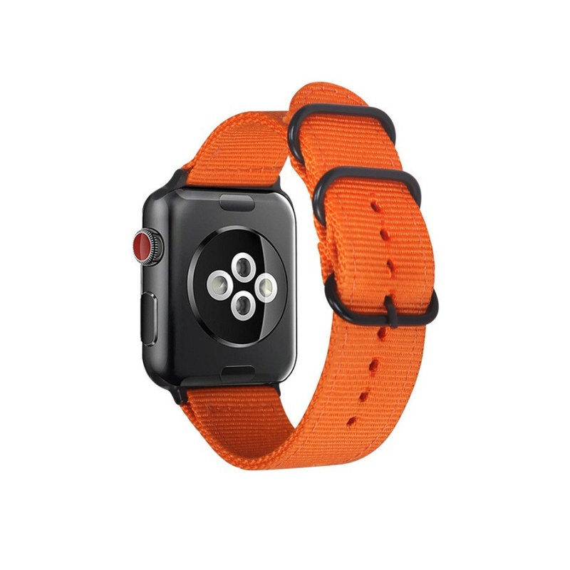 Remienok na Apple Watch 38/40mm látkový Orange