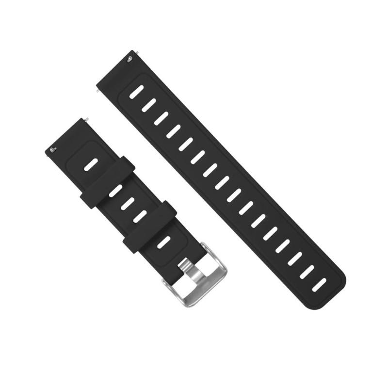 Remienok silikónový 20mm M Čierny