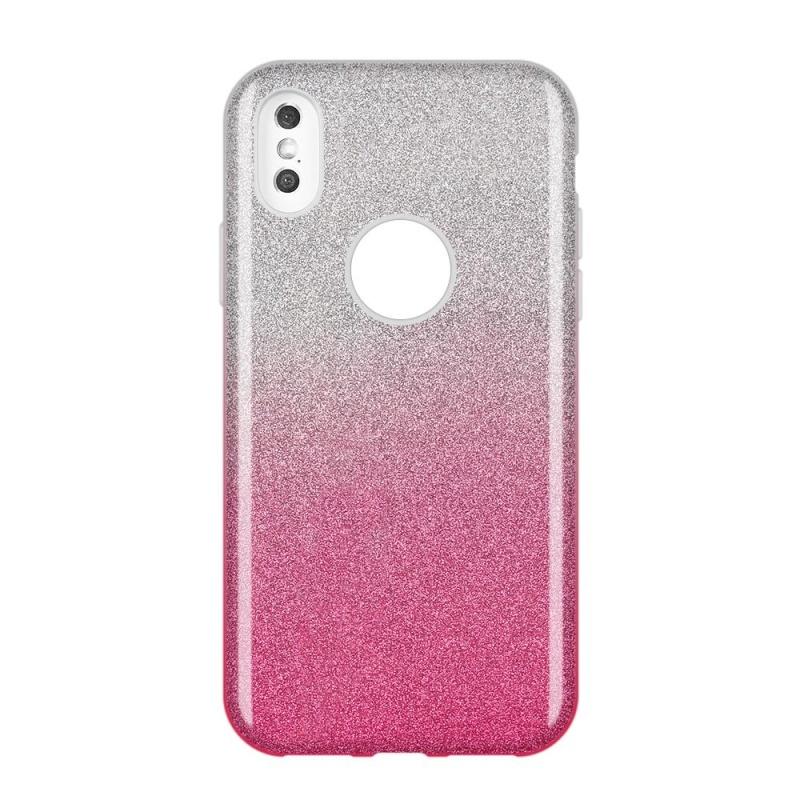 Silikónový kryt na Samsung Galaxy A9 2018 Half Purple