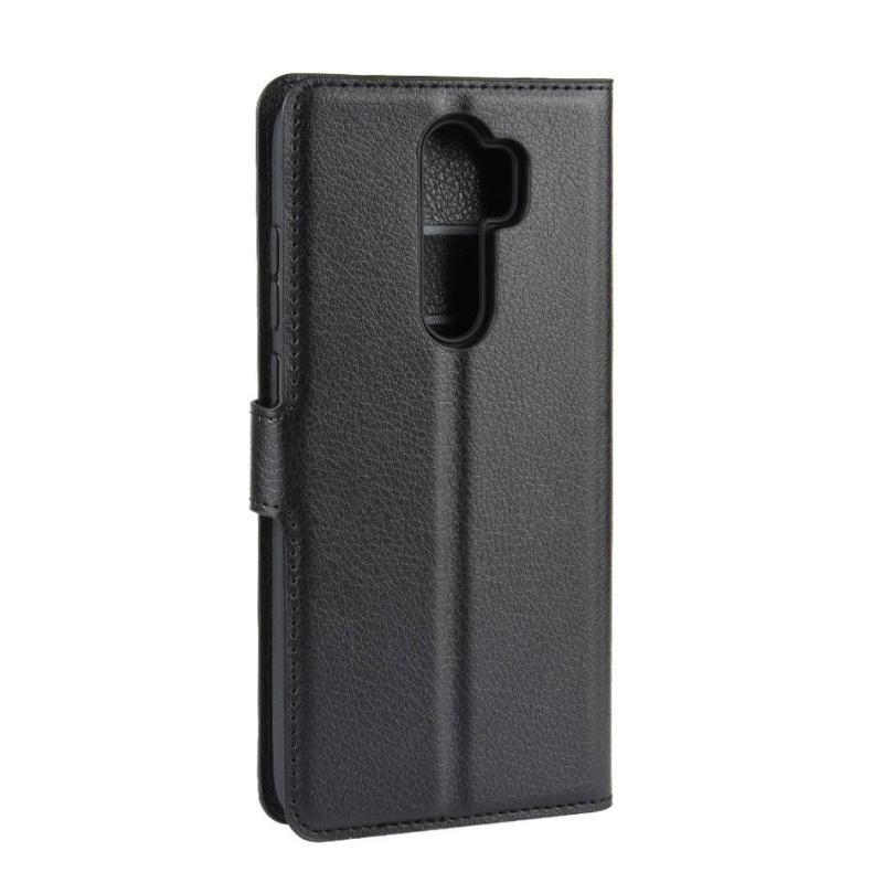 Kožené puzdro na Xiaomi Redmi Note 8 Pro Black