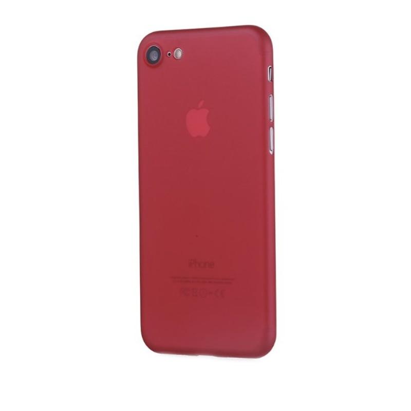 Ultra Tenký plastový kryt na iPhone 7/8/SE 2020 Červený