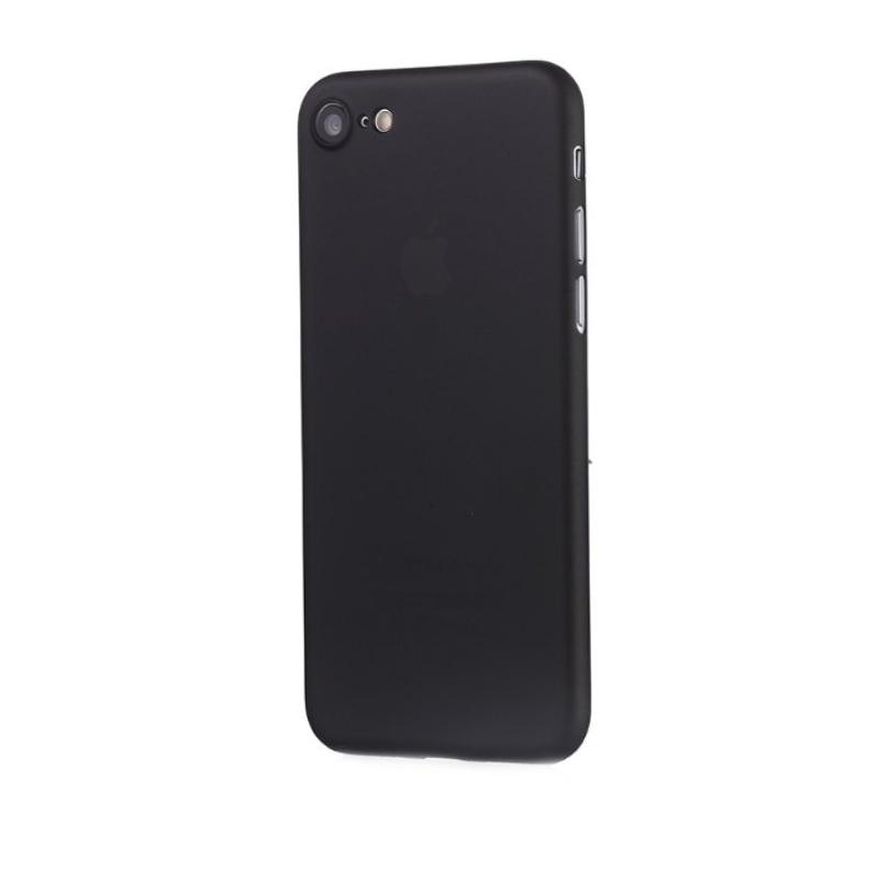 Ultra Tenký plastový kryt na iPhone 7/8/SE 2020 Čierny
