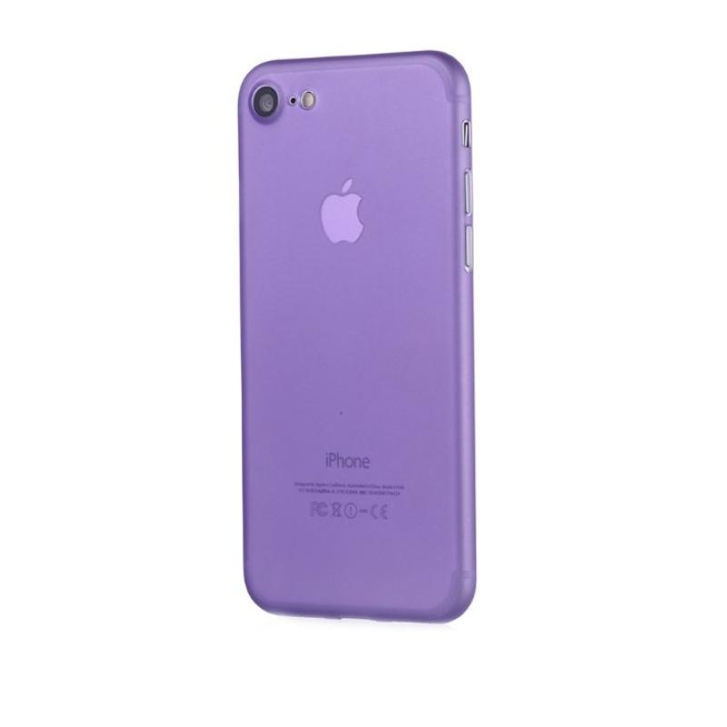 Ultra Tenký plastový kryt na iPhone 7/8/SE 2020 Fialový