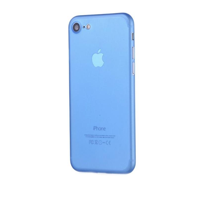Ultra Tenký plastový kryt na iPhone 7/8/SE 2020 Modrý