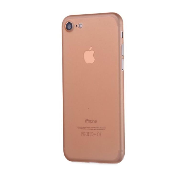 Ultra Tenký plastový kryt na iPhone 7/8/SE 2020 Oranžový