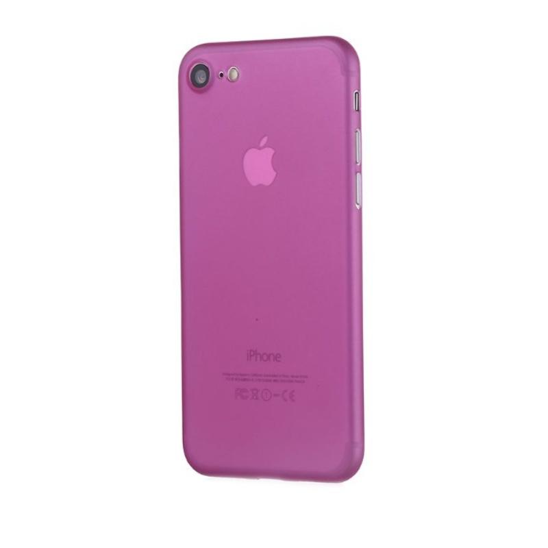 Ultra Tenký plastový kryt na iPhone 7/8/SE 2020 Ružový