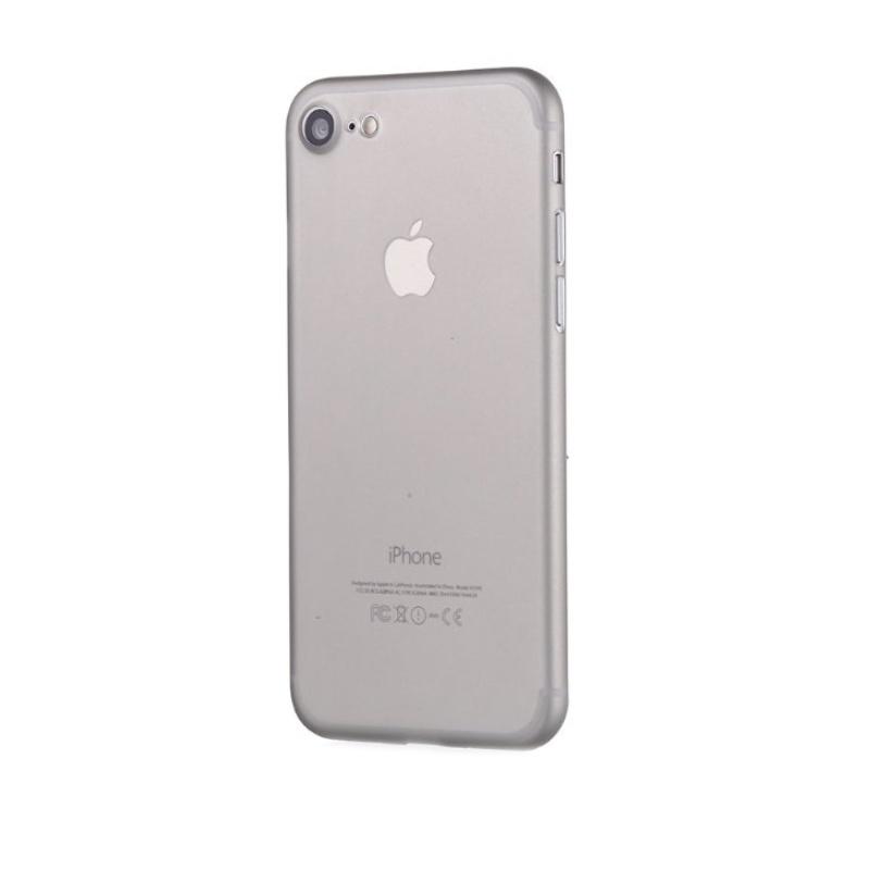 Ultra Tenký plastový kryt na iPhone 7/8/SE 2020 Sivý