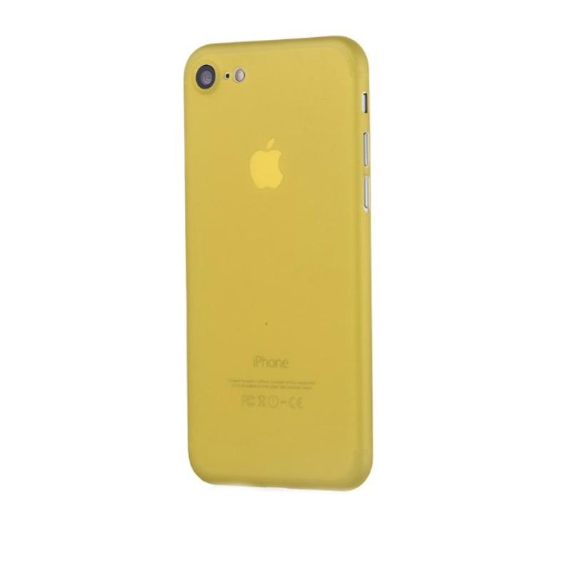 Ultra Tenký plastový kryt na iPhone 7/8/SE 2020 Žltý