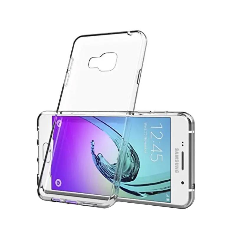 Silikónový kryt na Samsung Galaxy A3 2016 Priehľadný