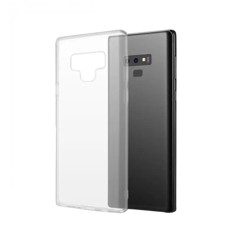 Silikónový kryt na Samsung Galaxy Note 9 Priehľadný