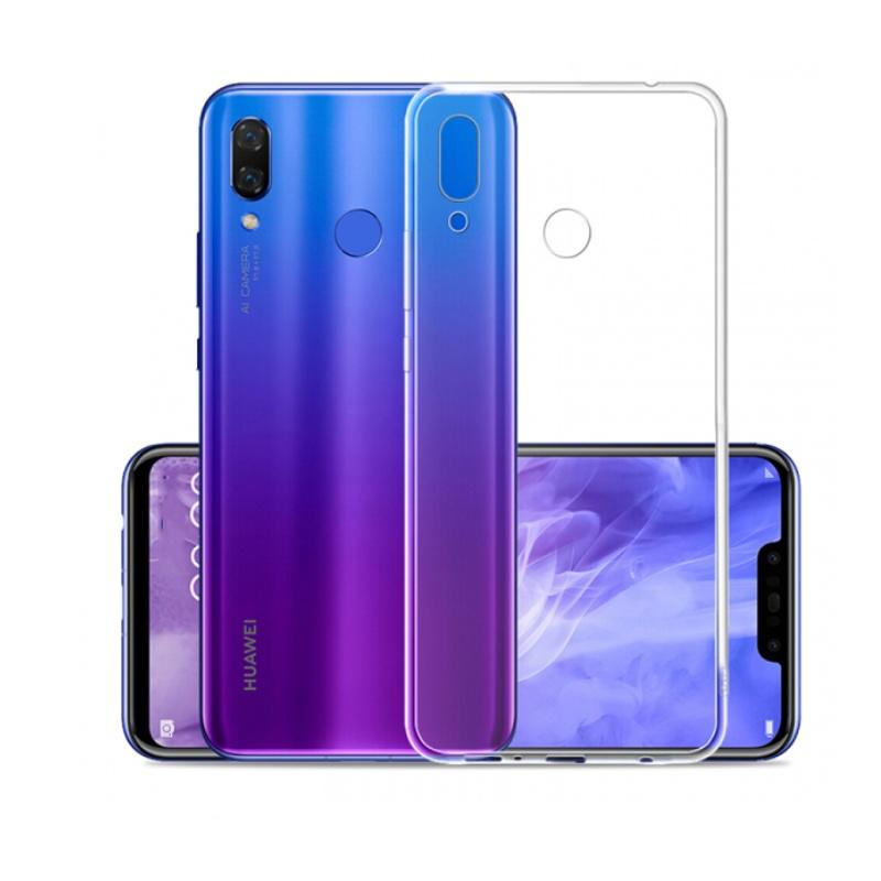 Silikónový kryt na Huawei P Smart 2019 Priehľadný
