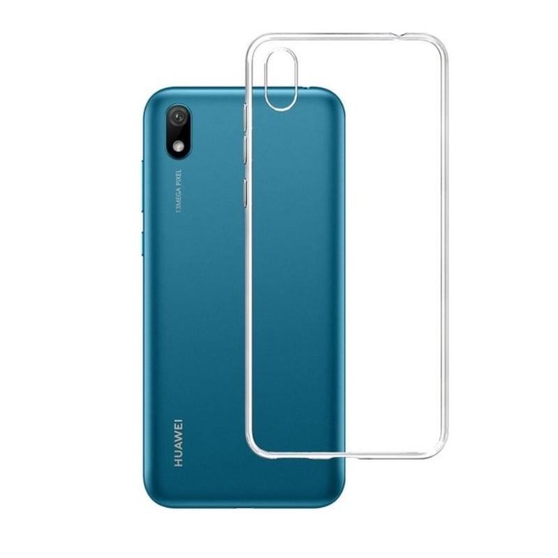 Silikónový kryt na Huawei Y5 2019 Priehľadný