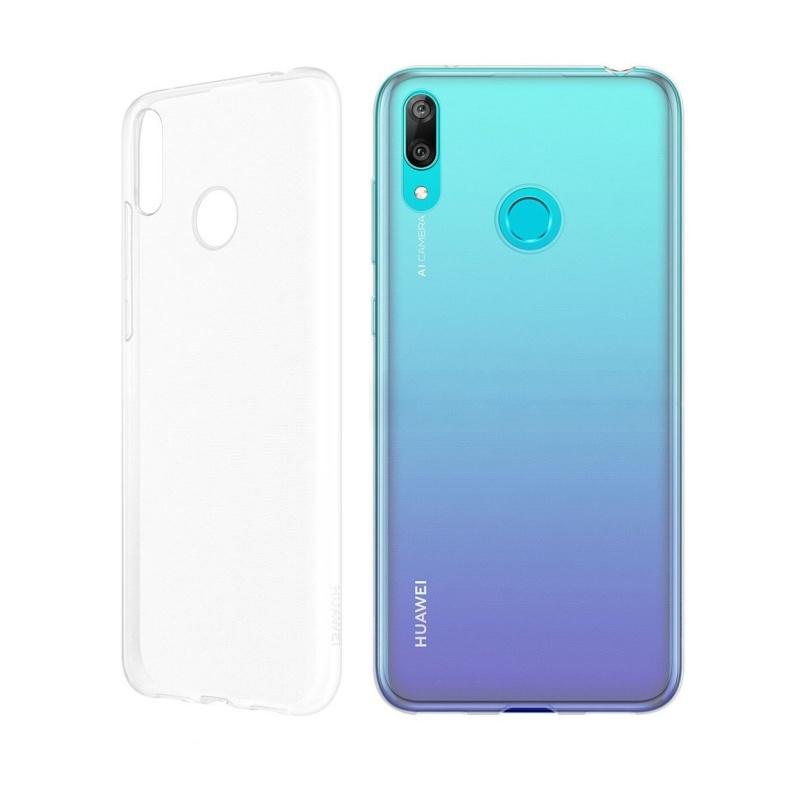 Silikónový kryt na Huawei Y6 2019 Priehľadný
