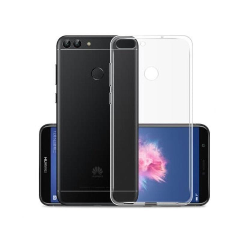 Silikónový kryt na Huawei Y9 2018 Priehľadný