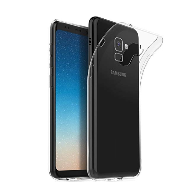 Silikónový kryt na Samsung Galaxy A5 2018 Priehľadný