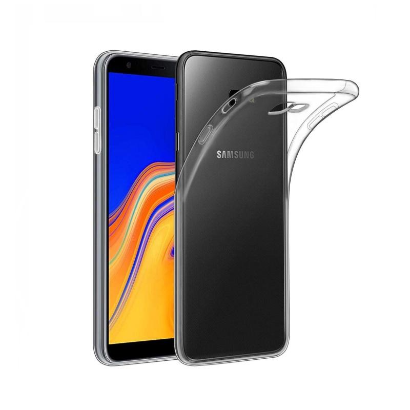 Silikónový kryt na Samsung Galaxy J4 Plus Priehľadný