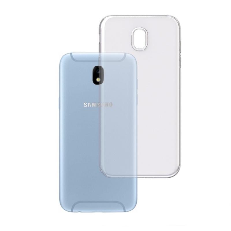 Silikónový kryt na Samsung Galaxy J7 2017 Priehľadný