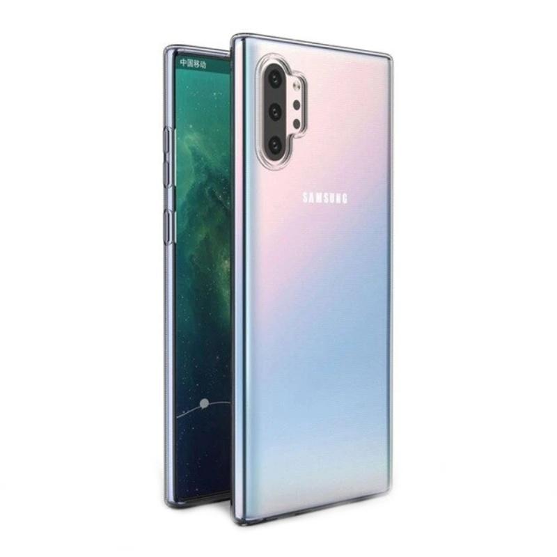 Silikónový kryt na Samsung Galaxy Note 10 Pro Priehľadný