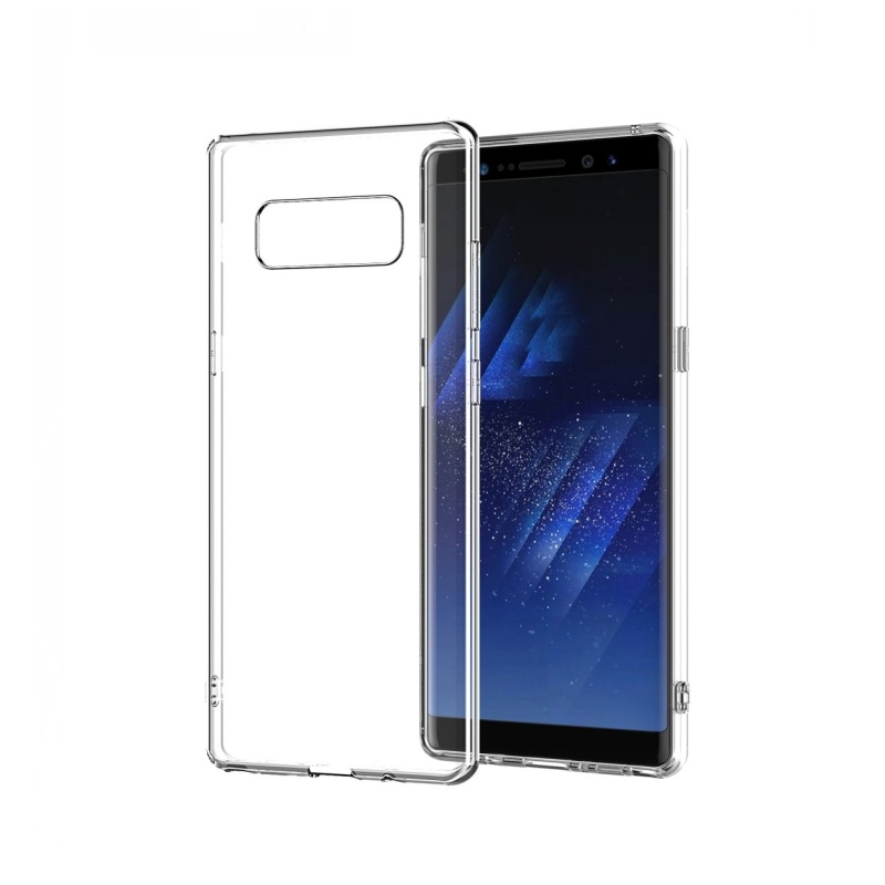 Silikónový kryt na Samsung Galaxy Note 8 Priehľadný