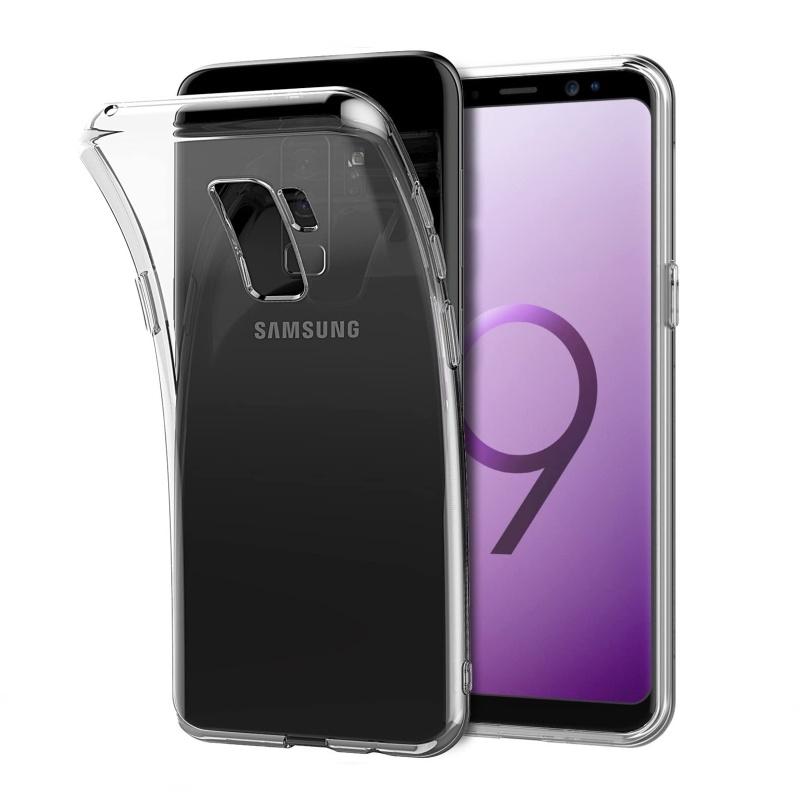 Silikónový kryt na Samsung Galaxy S9+ Priehľadný