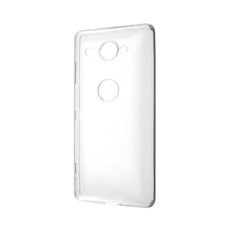 Silikónový kryt na Sony XZ2 Compact Priehľadný