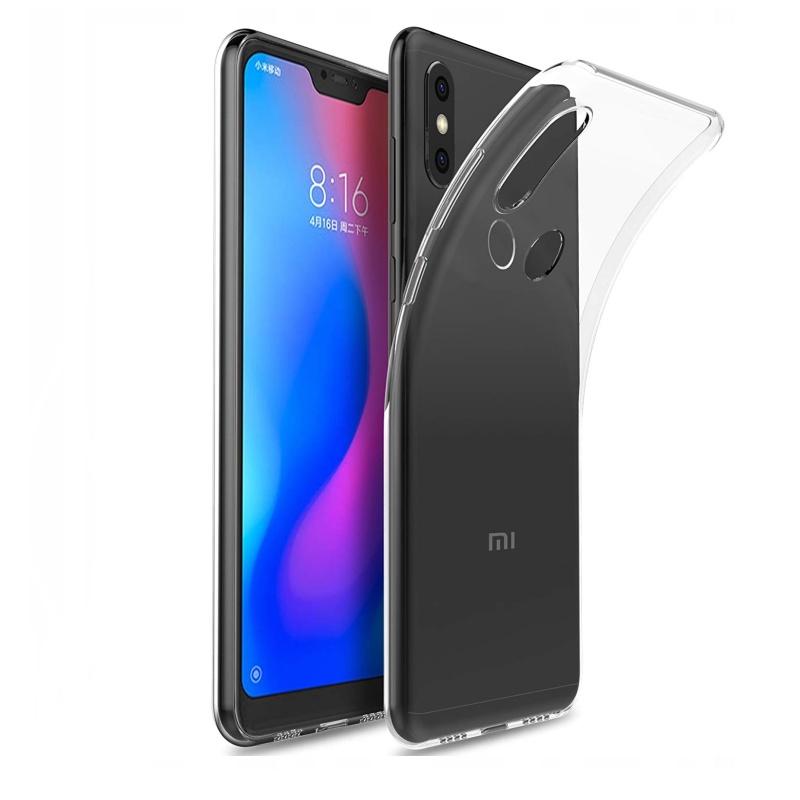 Silikónový kryt na Xiaomi A2 Lite Priehľadný