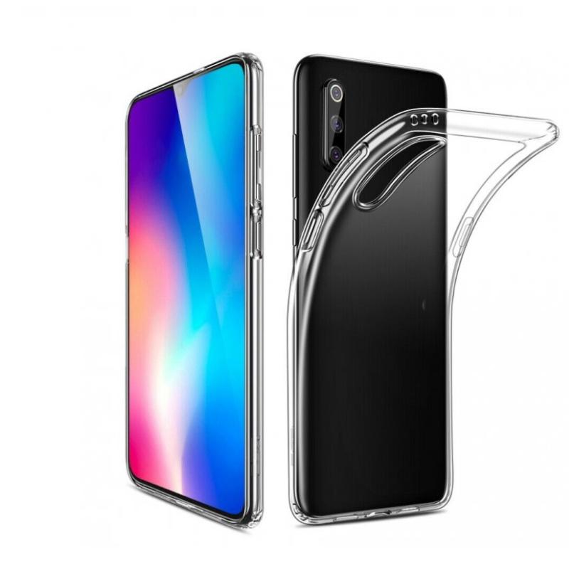 Silikónový kryt na Xiaomi MI 9 Priehľadný