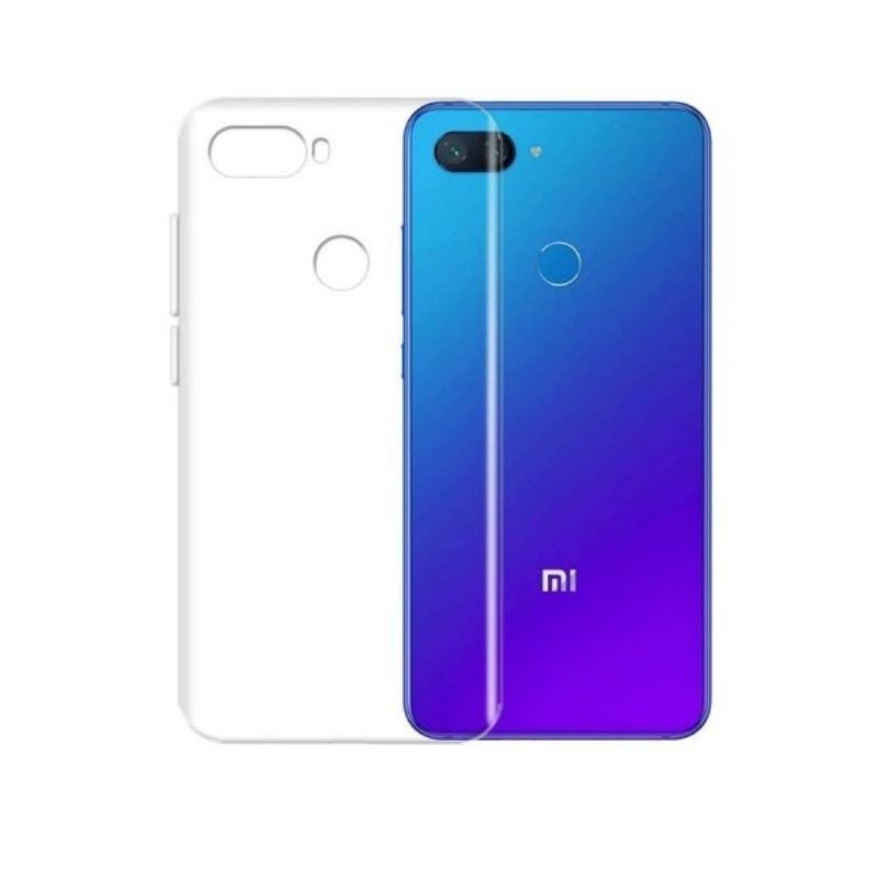 Silikónový kryt na Xiaomi MI 8 Lite Priehľadný