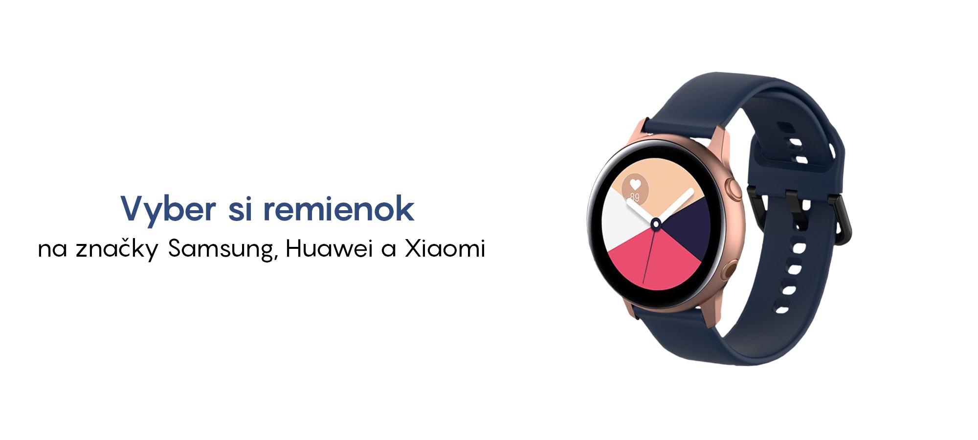 Remienky na hodinky samsung, xiaomi, huawei