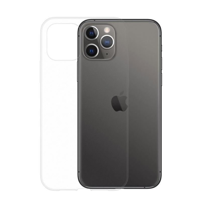 Silikónový kryt na iPhone 11 Pro Max Priehľadný