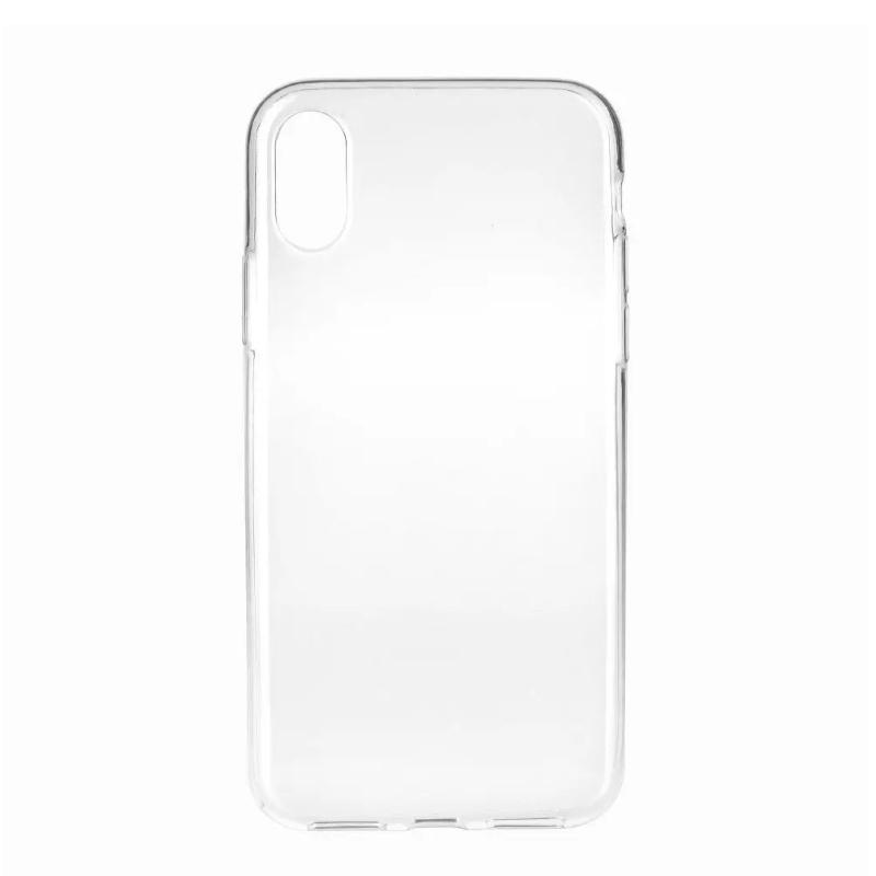 Silikónový kryt na iPhone X/XS Priehľadný
