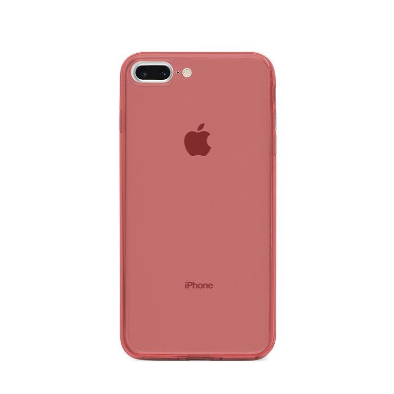 Ultra Tenký plastový kryt na iPhone 7/8 Plus Červený