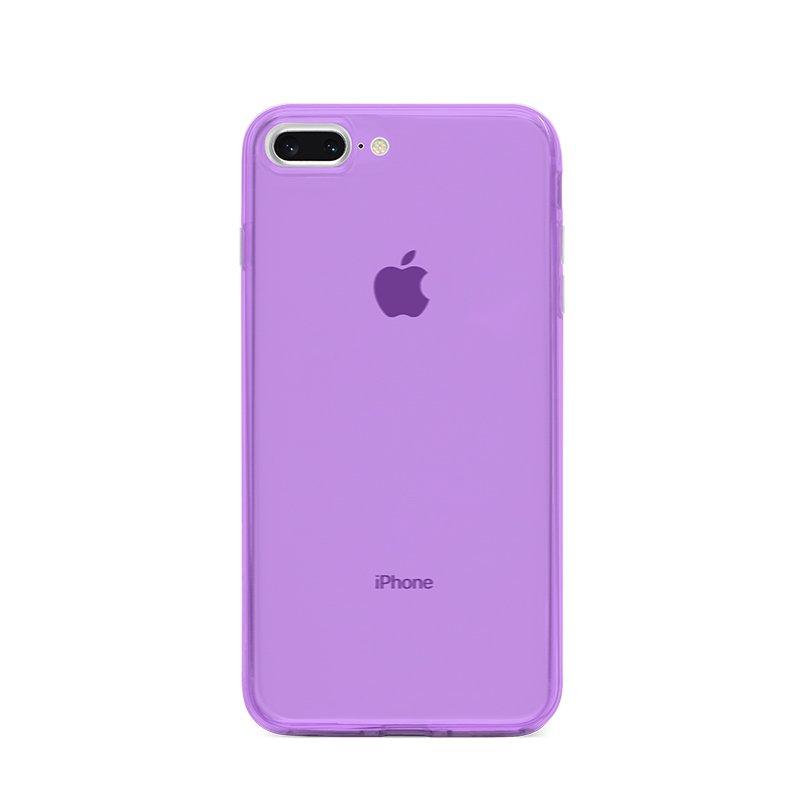 Ultra Tenký plastový kryt na iPhone 7/8 Plus Fialový